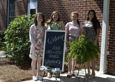 Aberdeen First Baptist Church | Youth Greeters