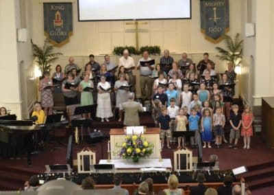 Aberdeen First Baptist Church Worship Choir