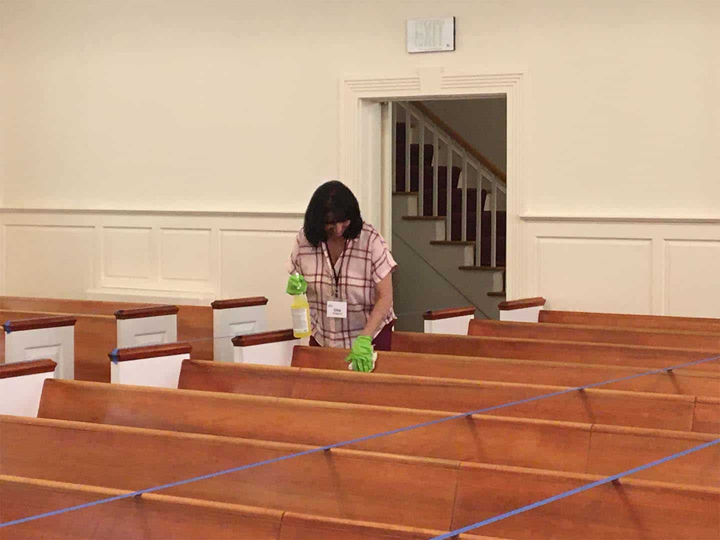 COVID-19 Cleaning | Aberdeen First Baptist Church