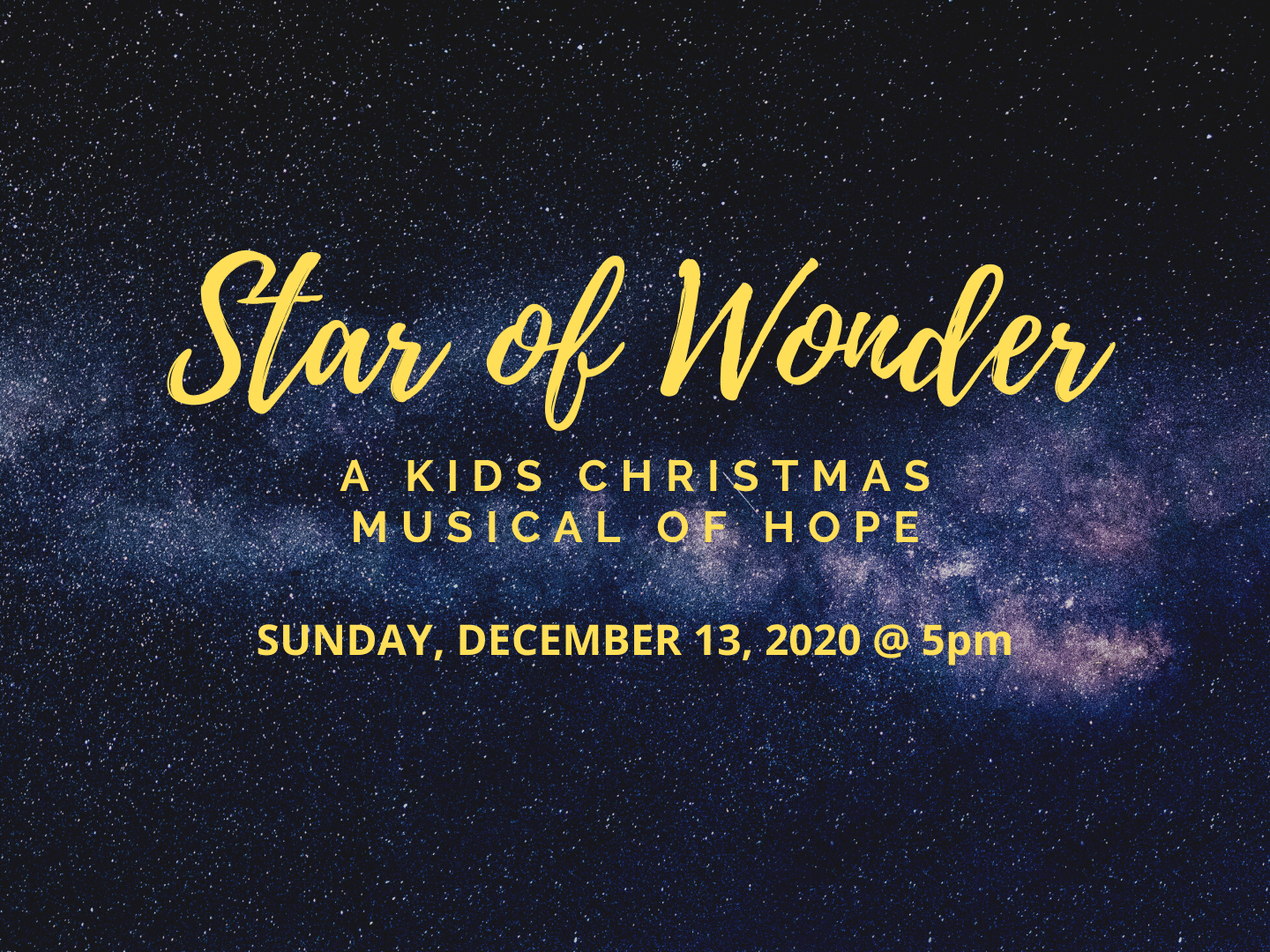Children's Christmas Musical | Aberdeen First Baptist Church