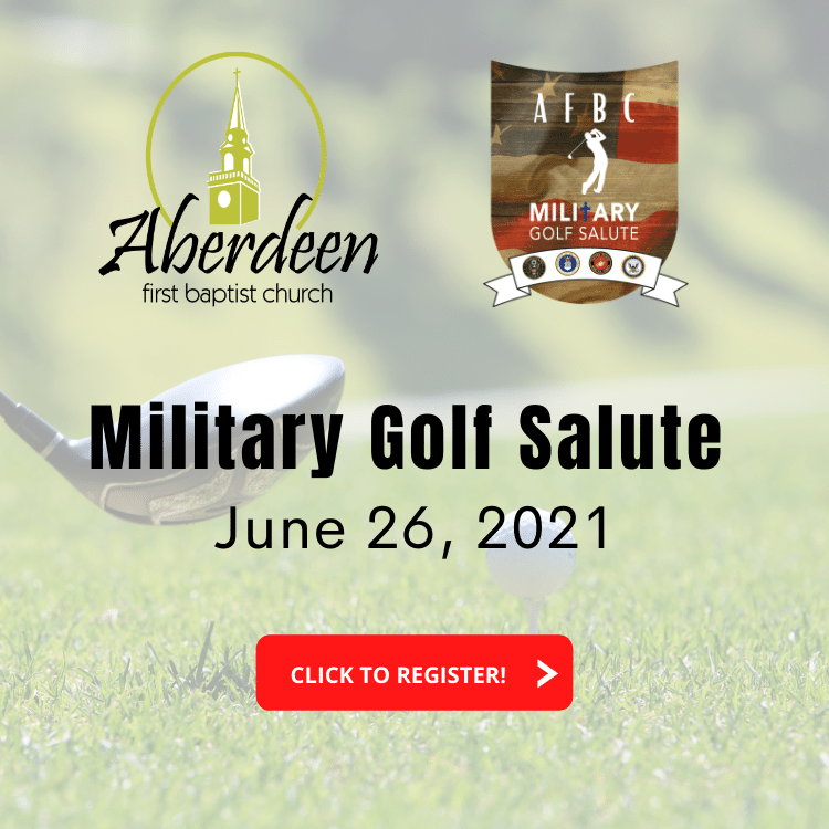 Military Golf Salute | Aberdeen First Baptist Church